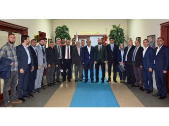 Ceyhan'dan Başkan Toltar'a Umre Ziyareti