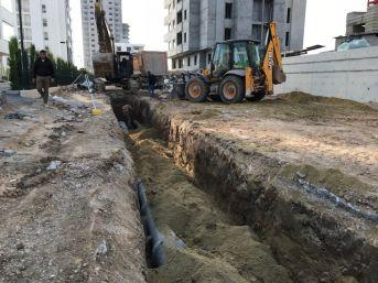 Meski'nin Tarsus'taki Kanalizasyon Çalışmaları Sürüyor