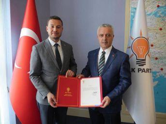 Ak Parti Milas İlçe Başkanı Acar Yeniden Görevlendirildi