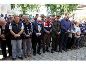 Gazi Askeri Törenle Toprağa Verildi