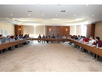 Başkan Toçoğlu, Saski Yıl Sonu Değerlendirme Toplantısına Katıldı