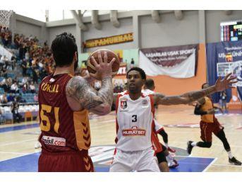 Tahincioğlu Basketbol Süper Ligi: Muratbey Uşak: 85 - Galatasaray Odeabank: 78
