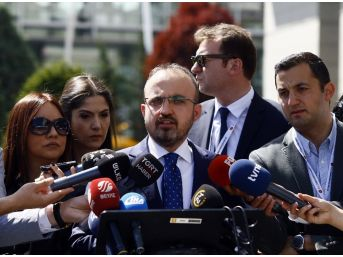 """Ak Parti Grup Başkanvekili Turan: """"chp Yaparsa Yanlış Değil, Ak Parti Yaparsa Yanlış, Bu Doğru Bir Yaklaşım Değil"""""""