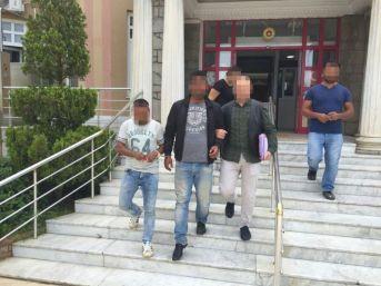 Cezaevi Firarisi Ve İnsan Taciri Polisten Kaçamadı