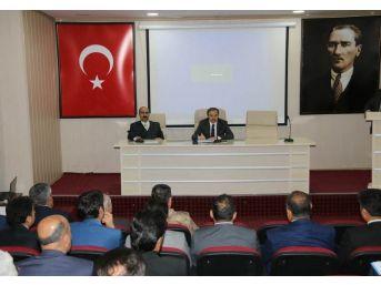 Hakkari'de 'il Koordinasyon Kurulu' Toplantısı