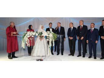 Cumhurbaşkanı Erdoğan, Gaziosmanpaşa Belediye Başkanı Usta'nın Kızının Düğününe Katıldı