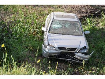 Simav'da Trafik Kazası: 2 Yaralı