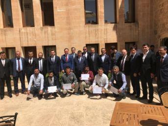 Mardin'de Hükümlülere Sertifika Verildi