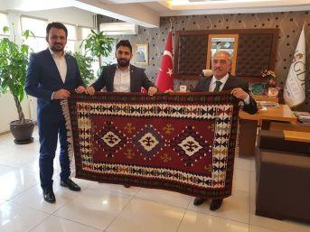 Tügva Genel Başkan Yardımcısından Başkan Özkan'a Ziyaret