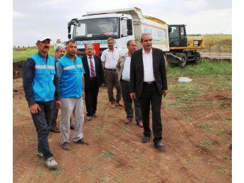 Haliliye'de Park Yapım Çalışmaları Sürüyor