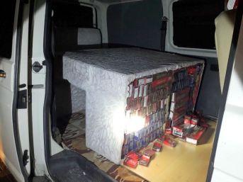 Muradiye'de 6 Bin 200 Paket Kaçak Sigara Ele Geçirildi