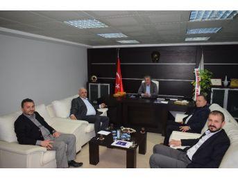 Çaycuma Tso Eski Başkanı Sarsık'tan Yeni Yönetime Ziyaret