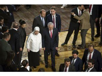 Başbakan Yıldırım, Abdullah Gül'ün Aday Olacağı İddialarının Sorulması Üzerine,
