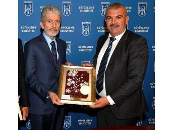 Kuzey Kıbrıs Türk Cumhuriyeti'nden Başkan Tuna'ya Ziyaret