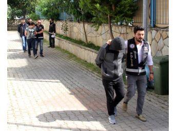 Alanya'da Gözaltına Alınan Suç Örgütü Şüphelileri Adliyede