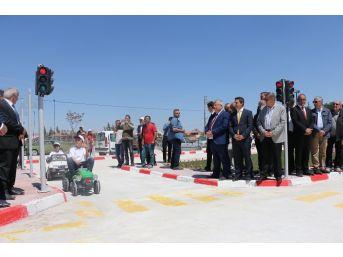 Tefenni'de Trafik Eğitim Parkı Açıldı