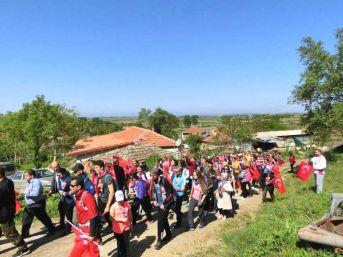 Şehit Polis Ahmet Can Anısına Yürüdüler