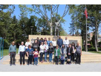25 Kişilik Kafile Taşköprü'ye Hayran Kaldı