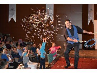 Taşköprü'de Sirk Gösterisi Büyük İlgi Gördü