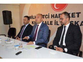 """Mhp İl Başkanı Baloğlu: """"erken Seçim Manipülasyonlara Yanıttır"""""""