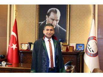 Mersin Barosu Başkanı Ali Er, İstifa Etti