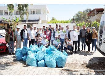 Milas'ta Chp'li Gençlerden Çevre Temizliği