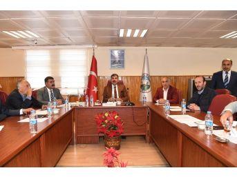 Muş'ta 'katı Atık Belediyeler Birliği' Toplantısı