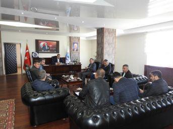 Başkan Bedirhanoğlu, Şırnak'ı Yeniden İnşa Eden Firmalarla Bir Araya Geldi