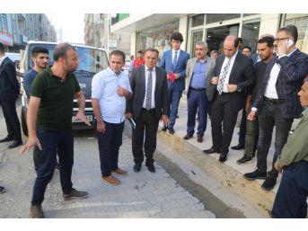 Başkan Vekili Işıktaş'tan Esnaf Ziyareti