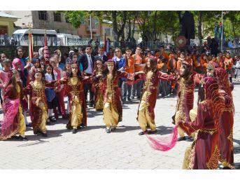 Çemişgezek'te Halaylı, Horonlu Kutlama