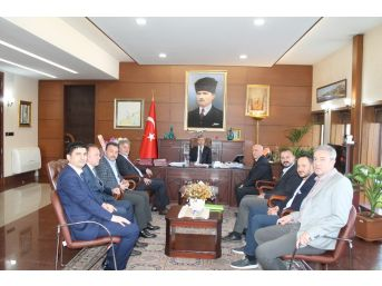 Çaycuma Tso Yönetimi Zonguldak'ta Ziyaretlerde Bulundu