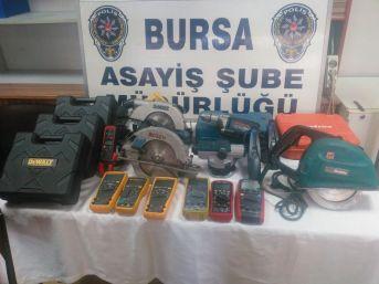 Bursa'da Hırsızların Yeni Gözdeleri Otomobiller