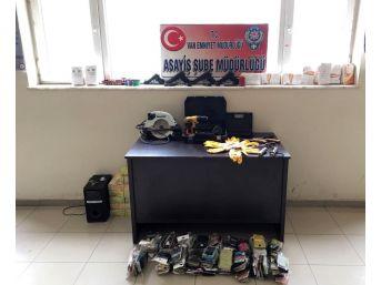 22 Hırsızlık Olayına Karışan 7 Zanlı Operasyonla Yakalandı