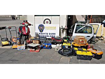Gaziantep'te Hırsızlık Şüphelelerine Operasyon