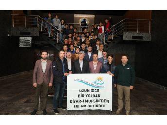 Başkan Karaosmanoğlu, Sivaslı Öğrencileri Ağırladı