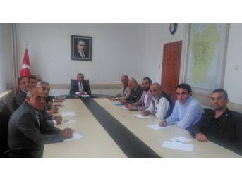 Beypazarı'nda Seçim Güvenliği Toplantısı