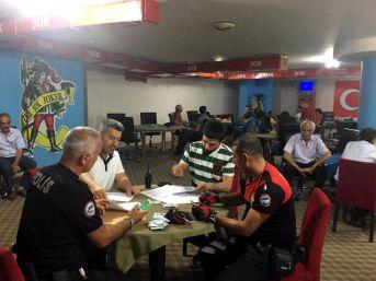 Antalya'da Kumar Oynayanlara Ceza Yağdı