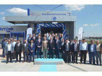 Kırıkhan'a Araç Muayene İstasyonu Açıldı