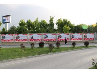 (özel) Kastamonu'da Reklam Panoları Görenleri Şaşırttı