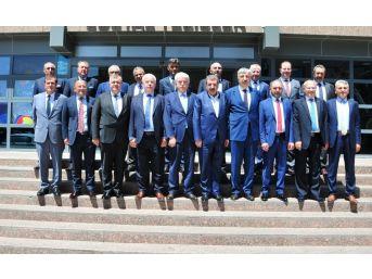 Ktb Başkanı Hüseyin Çevik, Borsalar Konsey Başkanı Seçildi