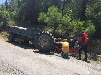 Dalaman'da Traktör Devrildi: 1 Ölü