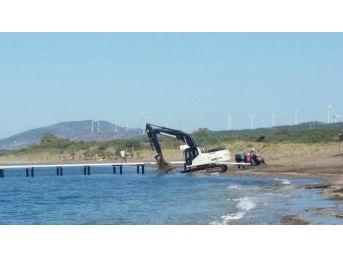 Koruma Altındaki Sahile Yapılan Demir İskele Hakkında Soruşturma Açıldı