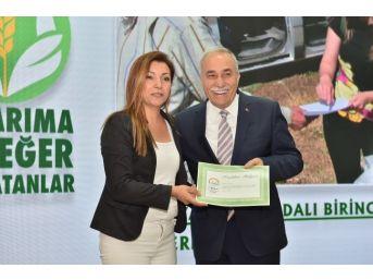 'tarıma Değer Katanlar' Yarışmasında Muğla'ya İki Ödül