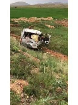Trafik Kazası 1 Ölü 2 Yarayı