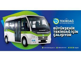 Tekirdağ'da Toplu Taşımada Yeni Dönem