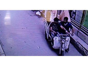 Furkan Vakfı'ndaki Hırsızlık Güvenlik Kamerasında