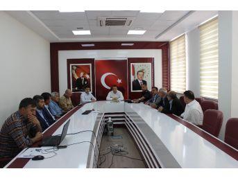 Kahta'da Seçim Güvenliği Toplantısı Yapıldı