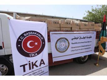 Tika'dan Fizan'a Gıda Desteği