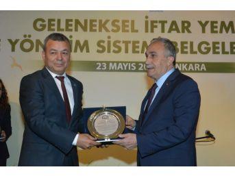 Antalya İl Gıda Tarım Ve Hayvancılık Müdürlüğü, Hizmet Kalitesini Tescilledi
