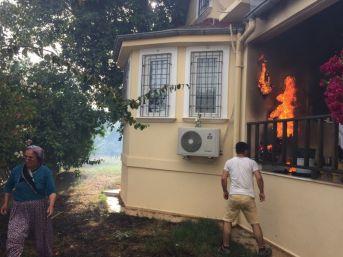 Antalya'da Aynı Yerde 2 Gün Arayla İkinci Yangın